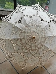 Недорогие -Пост ручки Материал Свадьба Повседневные Маскарад Пляж Зонт Зонты 78 см