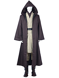 "Star Battle Jedi Robe Obi-Wan ""Ben"" Kenobi Cosplay Costume"