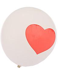 Bolas Balões Forma de Coração