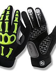 cheap -SPAKCT Sports Gloves Bike Gloves / Cycling Gloves Breathable Protective Snowproof Shockproof Full-finger Gloves Synthetic Leather PVC
