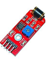 Недорогие -Модуль Киз 801s датчик вибрации - красный (DC 3 ~ 5В)