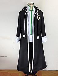 Inspirado por Fairy Tail Gerard Fernandes Anime Fantasias de Cosplay Ternos de Cosplay Patchwork Manga Longa Casaco Calças Roupa-Interior