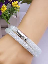 Fashion Multilayer   Drill Magnet  Handmade Bracelet Christmas Gifts
