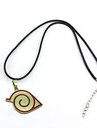 preiswerte -Schmuck Inspiriert von Naruto Cosplay Anime Cosplay Accessoires Halsketten Aleación Herrn heiß
