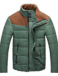 cheap -Men's Classic & Timeless Parka - Multi Color, Modern Style