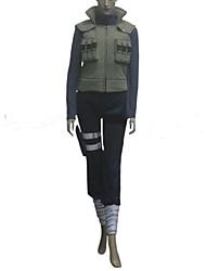 Inspiriert von Naruto Hinata Hyuga Anime Cosplay Kostüme Cosplay Kostüme Patchwork Langarm Binde Weste Top Hosen Taschen Für Frau