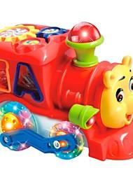 Недорогие -несут электрические строительные блоки с музыкой Aand красочный свет Детские развивающие игрушки