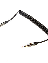1m 3.28FT Audio 3.5mm Male to Audio 3.5mm Male Extense Cable for Mobile Phone and Car AUX