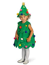 cheap -Little Christmas Tree Girls Fancy Dress Kids Costume