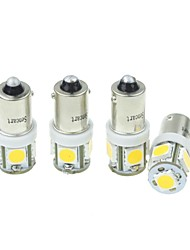 abordables -SO.K BA9S Ampoules électriques LED Haute Performance / LED SMD 160-180lm Clignotants For Universel