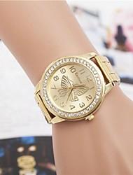 cheap -Women's Fashion Rhinestones Butterfly Steel Belt Quartz Wrist Watch(Assorted Colors) Cool Watches Unique Watches