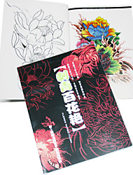 abordables -Brilliant Flowers Tattoo Pattern Book