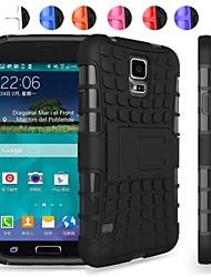 abordables -Funda Para Samsung Galaxy Funda Samsung Galaxy Antigolpes Funda Trasera Armadura ordenador personal para S5