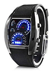 cheap -Personalized Father's Day Gift Fashionable Men's Watch Sports Speedometer Style LED Digital