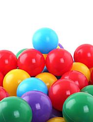 Недорогие -20 шт красочные пластиковые океан мяч, играя бассейн вода игрушки (случайный цвет)