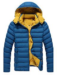 d2p pánská móda ležérní bavlna kabát