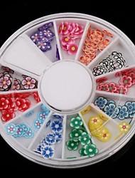 billige -120pcs Negle Smykker Polymer Nail Art Smuk Negle kunst Manicure Pedicure Frugt / Negle smykker