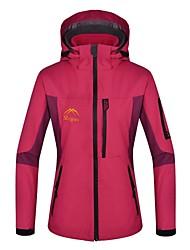 cheap -Women's 3-in-1 Jackets Waterproof Thermal / Warm Windproof Fleece Lining Detachable Fleece 3-in-1 Jackets Woman's Jacket Winter Jacket for