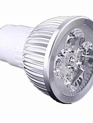 abordables -GU10 Focos LED 4 LED de Alta Potencia 440 lm Blanco Cálido Blanco Fresco Regulable AC 100-240 V
