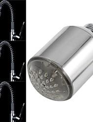 8002-A20 mini-sensor de temperatura elegante corrente de água luminosa levou luz torneira luz (cobre)
