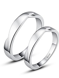 cheap -Women's Couple's Ring Silver Stylish Wedding Party / Evening Costume Jewelry
