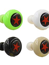 Bluetooth V3.0 cuffia stereo in-ear con microfono per il 6/5 / 5s Samsung S4 / 5 htc lg e altri