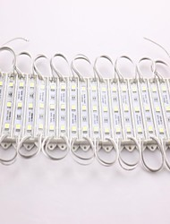Z®ZDM IP65 Waterproof 0.6W 5050SMD Cool White Light LED Module Hard Strip Bar Light Lamp (DC 12V, 20pcs)