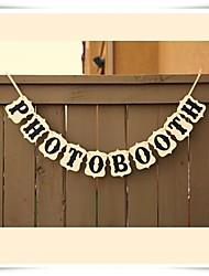 economico -Natale / Halloween / Compleanno / La laurea / Addio al nubilato / Graduazione / Nascita bambino Cartancino Decorazioni di nozze Classico