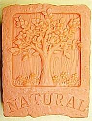 お買い得  -自然の木の形のフォンダンケーキチョコレートシリコーン型ケーキデコレーションツール、l7cm * w5.3cm * h3cm