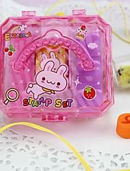 Недорогие -6шт DIY самостоятельной рукописного ввода резина художественного ремесла этикетки индексы& марки нового ребенка марок игрушка для birstday дар