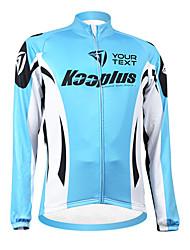 billiga Sport och friluftsliv-Kooplus Herr Dam Unisex Långärmad Cykeltröja Cykel Tröja Välj färg 6 # Välj färg 7 # Välj färg 8 # Välj färg 9 # Välj färg 10 #