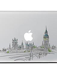 abordables -1 pieza Adhesivo para Anti-Arañazos Paisaje Diseño MacBook Air 13''