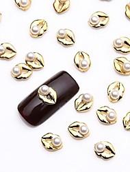 billige -Negle Smykker Smuk Neglekunst Manikyr pedikyr Metall Frukt / Blomst / Abstrakt / Tegneserie