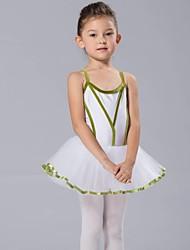 Tenues de Danse pour Enfants Hauts Robes et Jupes Tutu Enfant Mousseline Elasthanne Tulle Velours Manche longue