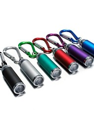LS174 Key Chain Flashlights LED Lumens Mode - 3*AG13 Mini Emergency Small Size Pocket Ultraviolet Light for Camping/Hiking/Caving