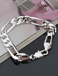 mode bracelet en argent sterling plaqué argent féminin classique