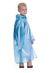 Kid's Hiking Raincoat Portable Rain-Proof Wearable Shockproof Reduces Chafing Transparent N/A Raincoat for Camping / Hiking Climbing Golf