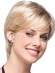 bez krytky mix barev mimořádně krátký vysoce kvalitní přírodní kudrnaté vlasy syntetické paruka s bočním třesku