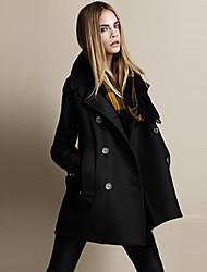 moda casual casaco de vento quente das mulheres baibian