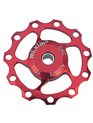PODAY For SHIMANO and SRAM MicroShift Rear Derailleur Aluminum Alloy Wheel 11T CNC Guide Roller
