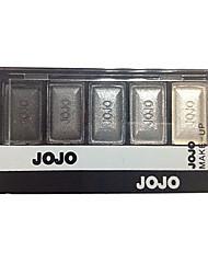preiswerte -5 Lidschattenpalette Trocken Lidschatten-Palette Puder Normal Smokey Makeup