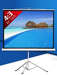 cheap -84 Inch 4:3 Portable Projector Screen with Stand