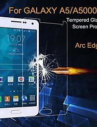 abordables -Protector de pantalla para Samsung Galaxy A5 Vidrio Templado 1 pieza Alta definición (HD) / Vidrio Templado de Alta Resistencia / Ultrafina