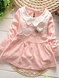 Girl's Fashion Pure Cotton Princess Dress
