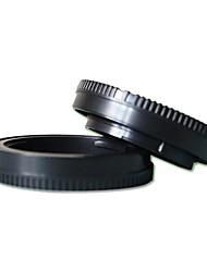 pajiatu tapa del objetivo + cámara tapa del cuerpo para Sony NEX 5R 5t 5c 5n 3n f3 a6000 a5100 A5000 NEX5 nex6 NEX7 a7 NEX3 A7R trasera