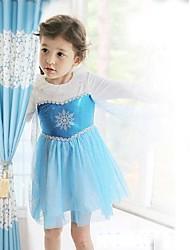 cheap -Girl's Baby Girl Dress Princess Dress Long-sleeve Dress