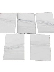 Magic Prop Poker w/ Hidden Invisible Line Thread - White (5 PCS)