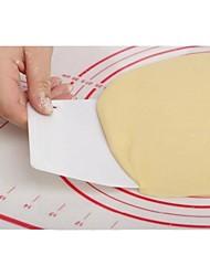 2pcs bakeware de alta qualidade manteiga trapézio plástico raspador