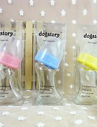 Недорогие -стеклянные бутылки для домашних животных (разных цветов)