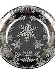 billige -Papir Middags Tallerkener porcelæn  -  Høj kvalitet 27.0*27.0*1.0 0.03